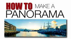 Panoramic photos have always been one of my favourite image formats.  So, here's a video tutorial on how to capture wonderful panoramic photos. ENJOY!  #Panorama #Photography #VideoTutorial