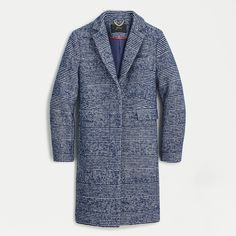 Shop J.Crew for the Wool topcoat in navy plaid for Women. Find the best selection of Women Outerwear available in-stores and online. Cashmere Wrap, Cashmere Sweaters, Coats For Women, Clothes For Women, Crew Clothing, Swing Coats, Outerwear Women, Sweater Shop, Top Coat