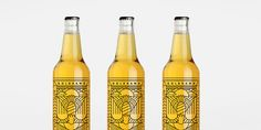 10 beautiful beer and spirit bottle designs from 2015 Fashion Packaging, Beer Label Design, Beer Packaging, Beverage Packaging, Brand Packaging, Bottle Design, Craft Beer Labels, Jar Labels, Packaging Design Inspiration