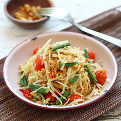 images about Thai Recipes on Pinterest | Green papaya salad, Pad thai ...
