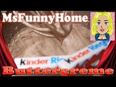 Kinderschokolade Buttercreme selber machen für Fondant tauglich Kuchen Backen Torten dekorieren - YouTube