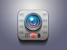 camera video 20 Fantastically Detailed Icons | Inspiration