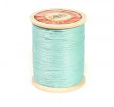 Linen Thread: Jade $36.00 This is a great waxed linen thread for leather and leatherworking but also bead making, costume jewelry and even bookbinding. Check @ www.fineleatherworking.com #fineleatherworking