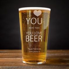 Celebrate their birthday with a unique personalised pint glass! Engraved with a crown motif and their name. Perfect for a beer lover. Personalized Pint Glasses, Personalized Fathers Day Gifts, Engraved Gifts, Christmas Gifts For Him, Gifts For Boys, Boy Gifts, Gifts For Old Men, Male Gifts, Christmas Crafts