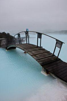 a bridge in the sea