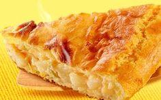 Receita de torta de palmito com frango para a fase cruzeiro PL dukan.