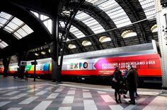Expo 2015 train station inaugurated in Milan - Expo 2015