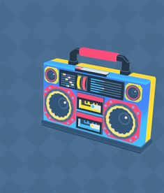 boom box! i had such a good time making this
