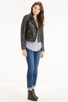 Meet the genuine leather jacket that'll genuinely last you for as long as you want to look good (forever, right?).
