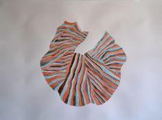 Untitled by Misato Suzuki  | new work 2016, acrylic on paper