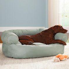 Overstuffed Luxury Sofa Dog Bed Doctors Foster And Smith Dog - Overstuffed luxury sofa dog bed