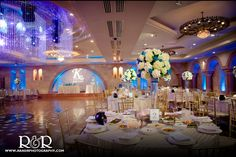 Anoush Catering & Banquet | Glendale | Wedding Venue | Wedding Photography | Blue & White Wedding | #wedding #anoush #catering #banquet #photography #blue #white #RandRCreativePhotography