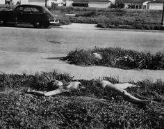 Elizabeth's body was found mutilated, on January 15, 1947, in Leimert Park, Los Angeles, California. Her severely mutilated body was severed at the waist and completely drained of blood. Her face had been slashed from the corners of her mouth toward her ears, creating an effect called the Glasgow smile. Elizabeth Short's death has remained one of the most famous unsolved cases in California's history.