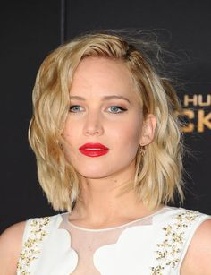 Jennifer Lawrence at the 2015 Los Angeles premiere of 'The Hunger Games: Mockingjay Part 2'.