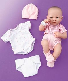 la newborn real life doll | La Newborn® Real Life Doll Set