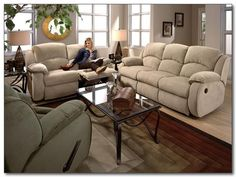 Southern Motion - Cagney Double Reclining Sofa with Loveseat - Dual Reclining Loveseat, Loveseat Sofa, Sectional Sofa, Sleeper Sofa, Hudson Furniture, Powell Furniture, New Furniture, Living Room Sofa, Living Room Furniture