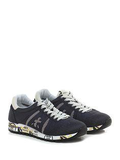 PREMIATA - Sneakers - Uomo - Sneaker in tessuto lavorato con suola in  gomma, tacco