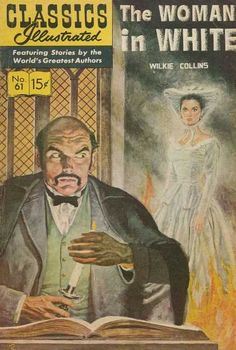 The Woman In White - Wilkie Collins - Book - Candle - Fire