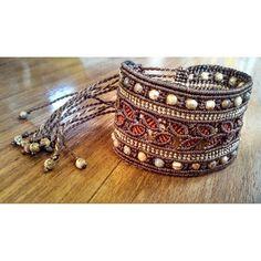 #mucaro #macrame #bracelet #jasper #dominicanart