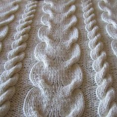 Chunky Crochet Blankets Name: 'Knitting : Super Chunky Cable Throw - Knitted Throw Patterns, Knitted Afghans, Knitted Throws, Knitting Patterns, Crochet Patterns, Knitting Tutorials, Stitch Patterns, Love Knitting, Knitting Stiches
