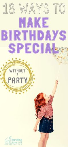 18 Fun ways to celebrate a birthday without a big party! Diy Birthday Banner, Birthday Plate, Teen Birthday, Special Birthday, Birthday Invitations, Birthday Ideas, Birthday Parties, 18th Birthday Celebration Ideas, Birthday Traditions