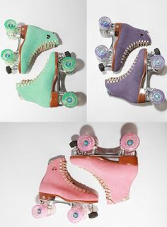 Obsessed with these punchy colored roller skates from Urban Outfitters.