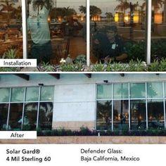 Solar Gard 4 Mil Sterling 60 #solargard #windowfilm Get a Free Estimate!