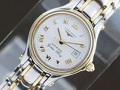Longines Watch  (Women's Pre-owned Golden Wing Gold Wristwatch)