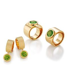 Gold Rings, Gemstone Rings, High Jewelry, Peridot, Gemstones, Unique, Diamonds, Jewels, Gems
