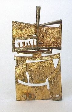From Finland, bronze pendant by Jorma Laine. Late 60's - early 70's. I have this and love his work