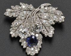 Paul Flato diamond brooch