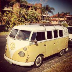 1c0a25bb02 pale yellow 1976 kombi - Google Search Volkswagen Minibus
