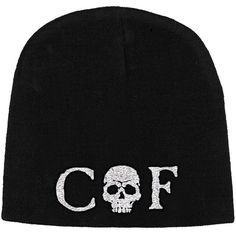 CRADLE OF FILTH Skull Logo Beanie  #cradleoffilth #cof #rockabilia #licensedmerchandise #merchandise #merch #beanie #hat #accessories #metal #rock #bands