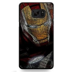 Typography Ironman TATUM-11513 Samsung Phonecase Cover For Samsung Galaxy Note 7