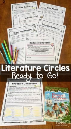 This is a great website over 150 digital books all free reading literature circle job sheets group rubrics book activities connection posters and more fandeluxe Image collections