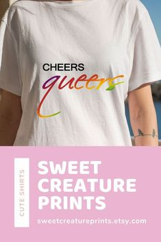 This Queer Eye LGBT shirt is perfect for any Pride events or just chilling watching Queer Eye. Click through to view more styles. Tan France, Gay Pride Shirts, Feminist Shirt, Intersectional Feminism, Ethical Fashion, Lgbt, Chilling, Stocking Stuffers, Small Businesses