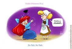 What if Disney princesses would meet?    http://www.eyefood.nl/disney-prinsessen-die-elkaar-ontmoeten