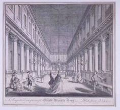 William Lindsey Drawing of the Assembly Rooms at York by Lord Burlington