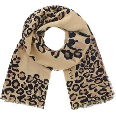 Marc by Marc Jacobs Painted Leopard Scarf ($178) ❤ liked on Polyvore featuring accessories, scarves, leopard print scarves, leopard shawl, patterned scarves, leopard print shawl and animal print scarves