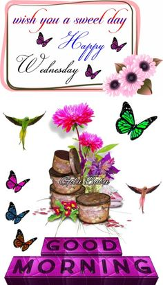 Wednesday Morning Greetings, Tuesday Greetings, Thursday Morning, Happy Wednesday, Good Morning, Funny Good Night Images, Clip Art, Place Card Holders, Friends
