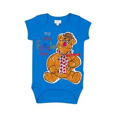 Fozzy Bear Body Suit (can be personalised)
