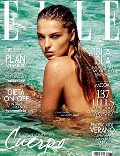 Elle Spain May 2011, Daria Werbowy