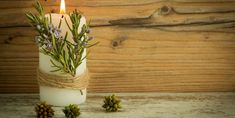 Discover recipes, home ideas, style inspiration and other ideas to try. Beeswax Candles, Scented Candles, Perfume, Planter Pots, Essential Oils, Plants, Home Decor, Table, Garden