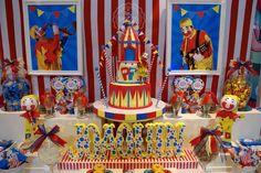 FIXED GEARD - 2th Birthday -Joaquín Birthday Party Ideas | Photo 1 of 7 Circus Birthday, Circus Theme, Circus Party, 5th Birthday, Birthday Parties, Dream Party, Party Ideas, Candy, Painting