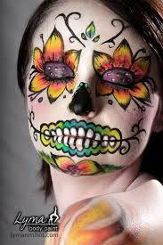 sugar skull schmink - Google zoeken