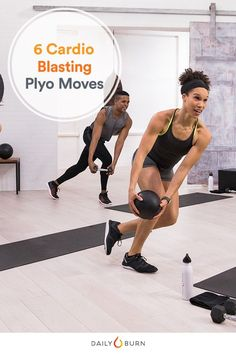 Gain speed and strength with these seven plyometric exercises from the Daily Burn Power Cardio program. It's the cardio workout you'll want to keep doing. via @dailyburn