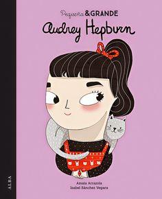 Pequeña y grande Audrey Hepburn es el tercer título de una colección de cuentos con la que niñas y niños descubrirán quiénes eran y qué lograron las grandes mujeres de la historia contemporánea. Diseñadoras, actrices, aventureras, científicas... Mujeres únicas y maravillosas de las que aprender y con las que identificarse. Mujeres que, como Audrey, convirtieron un pequeño sueño en una gran historia.