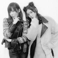Sashihara Rino & Matsui Jurina, #AKB48 #HKT48 #SKE48 #2016