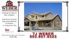 """http://ift.tt/29sUArk New Homes For Sale in Vancouver Wa Real Estate by TJ WEBER http://tjweber.kw.com/ Call 503.807.8323  Buying Your Home Youre ready to buy a property. And  while youre looking forward to seeing the word """"SOLD"""" posted from the curb  you know theres a lot to consider along the way. One of your first decisions is to select a real estate company and real estate agent wholl join you in the process. New Homes For Sale in Vancouver Wa  When You Work With Us  You Get:  A…"""