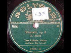 Vasa Prihoda - Toselli's Serenade (1930s)